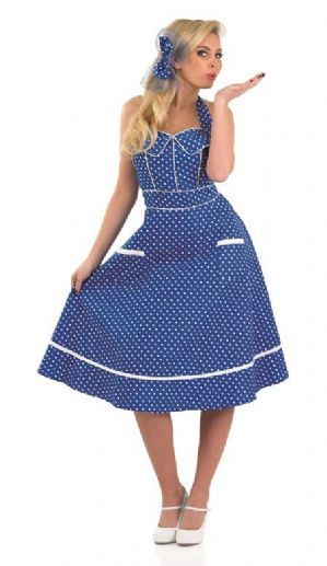 1950's Plus size day dress costume